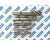 Фреза концевая 10х50х132 z=3 к/х Р6М5 КМ2 удлиненная фото